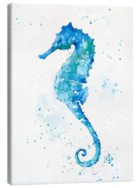 Canvas print  Sailing Along (Seahorse) - Sillier Than Sally