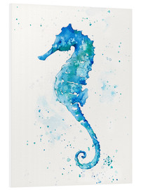 Foam board print  Sailing Along (Seahorse) - Sillier Than Sally