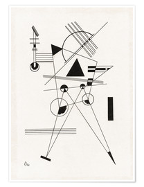 Poster  Lithograph no. I - Wassily Kandinsky