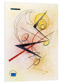 Foam board print  Small Hot - Wassily Kandinsky