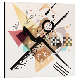 Aluminium print  Draft 'On White II' - Wassily Kandinsky