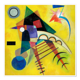 Poster  white point - Wassily Kandinsky