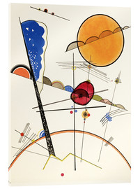 Acrylic glass  To grow - Wassily Kandinsky