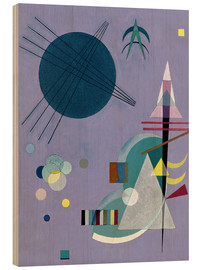 Wood  Violet Green - Wassily Kandinsky