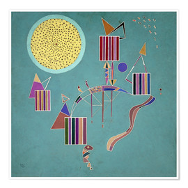 Premium poster  Intime Message - Wassily Kandinsky