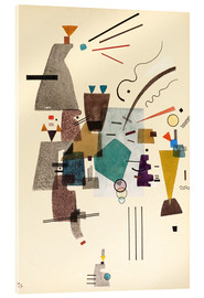 Acrylic print  warmed cold - Wassily Kandinsky
