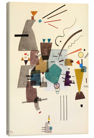 Canvas print  warmed cold - Wassily Kandinsky
