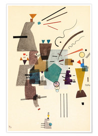 Premium poster  warmed cold - Wassily Kandinsky