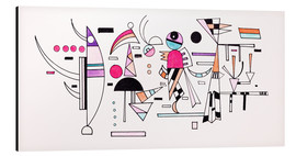 Aluminium print  Design for Easy Together - Wassily Kandinsky