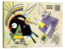 Canvas  Black and purple - Wassily Kandinsky