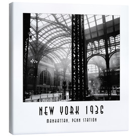 Canvas print  NY36Q 04 Manhattan, Penn Station - Christian Müringer