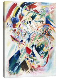 Canvas print  Panel for Edwin R Campbell No 4 - Wassily Kandinsky