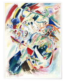Premium poster  Panel for Edwin R  Campbell No  4 - Wassily Kandinsky
