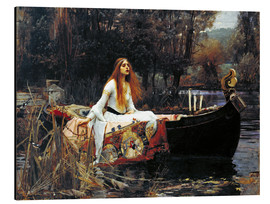 Aluminium print  The Lady of Shalott - John William Waterhouse