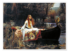 Premium poster  The Lady of Shalott - John William Waterhouse