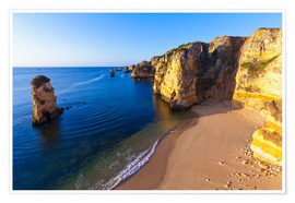 Dieterich Fotografie - Beach near Lagos in the Algarve