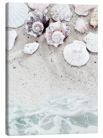 Canvas print  Beach with Shells