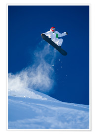 Poster  snowboarding