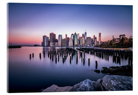 Acrylic glass  Sunrise New York City - Sören Bartosch