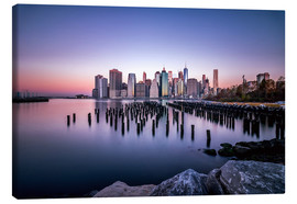 Canvas print  Sunrise New York City - Sören Bartosch
