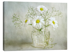 Canvas print  Still life with Chrysanthemums - Mandy Disher