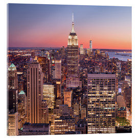 Acrylic print  New York XI - Rainer Mirau