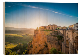 Salvadori Chiara - Ronda at the sunset