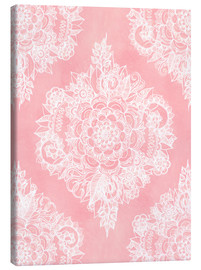 Canvas print  Marshmallow Lace - Micklyn Le Feuvre