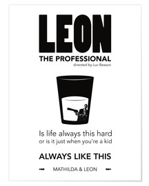 Premium poster Leon the Professional