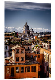 Acrylic print  Over the roofs of Rome, Italy - Sören Bartosch
