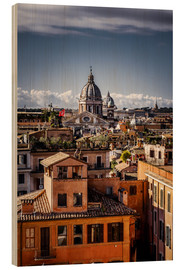 Wood  Over the roofs of Rome, Italy - Sören Bartosch