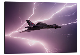 Aluminium print  Flying With Gods - airpowerart