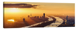 Canvas print  Sunrise above Vienna - Benjamin Butschell
