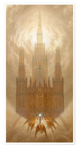 Premium poster The Cathedral