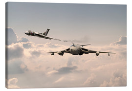 Canvas print  Victor and Vulcan - airpowerart