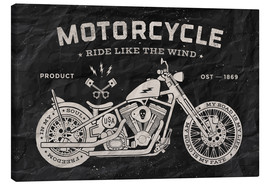 Canvas print  Motorcycle