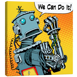 Canvas print  We can do it - Kidz Collection