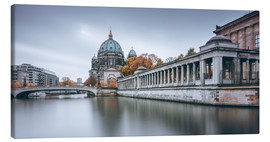 Canvas print  Berlin Cathedral in autumn colors - Philipp Dase