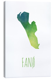 Canvas print  Fanø - Stephanie Wittenburg