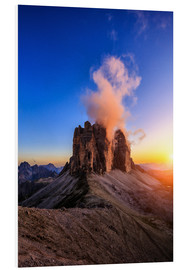 Foam board print  dolomites mountains - Muharrem Ünal
