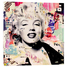 Acrylic glass  Marilyn Monroe - Michiel Folkers