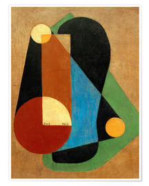 Premium poster Abstract composition