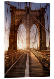 Acrylic glass  Brooklyn Bridge NYC - Sören Bartosch