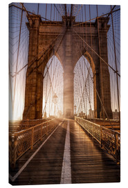 Canvas print  Brooklyn Bridge NYC - Sören Bartosch
