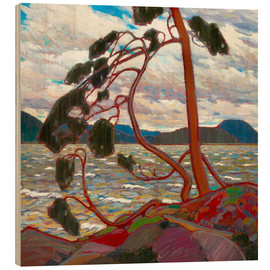 Wood  The West Wind - Tom Thomson