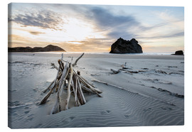 Canvas print  Wharariki Beach - NZ - Thomas Klinder