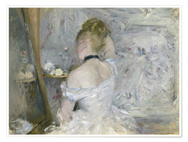 Poster  Woman at Her Toilette - Berthe Morisot