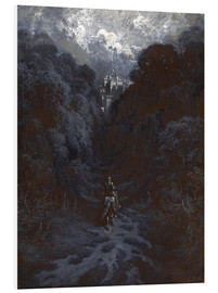 Forex  Sir Lancelot Approaching the Castle of Astolat - Gustave Doré