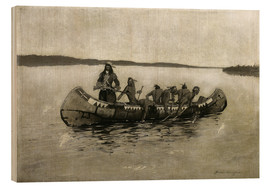 Wood  This Was a Fatal Embarkation - Frederic Remington