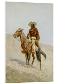 Foam board print  A Mexican Vaquero - Frederic Remington
